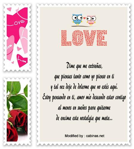 Frases bonitas para mi novio  - PENSAMIENTOS DE AMOR