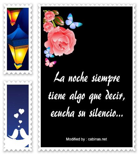 Nuevos Mensajes De Buenas Noches Amor Para Celular Frases