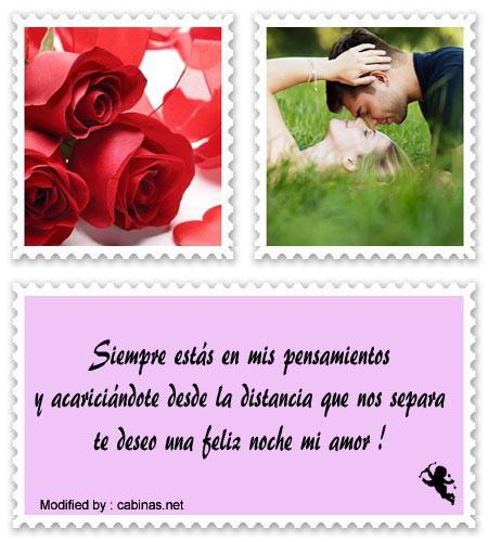 Mensajes De Buenas Noches Para Dedicar A Mi Amor Frases De Dulces