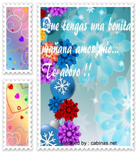 Nuevos Mensajes De Buenos Dias A Mi Amor Textos De Buenos Dias