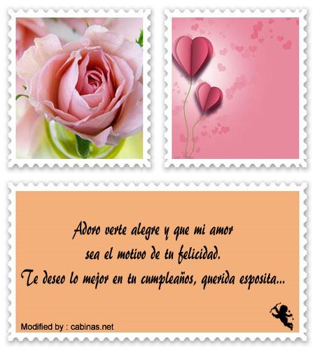 Mensajes De Feliz Cumpleanos Para Mi Esposa Cartas Y Saludos De