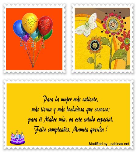 Los Mejores Mensajes De Feliz Cumpleaños Para Mi Mamà Saludos De