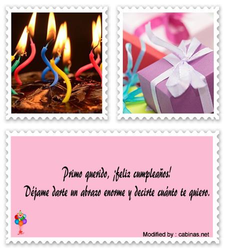 Mensajes Bontos De Feliz Cumpleaños Para Mi Primo Dedicatorias De