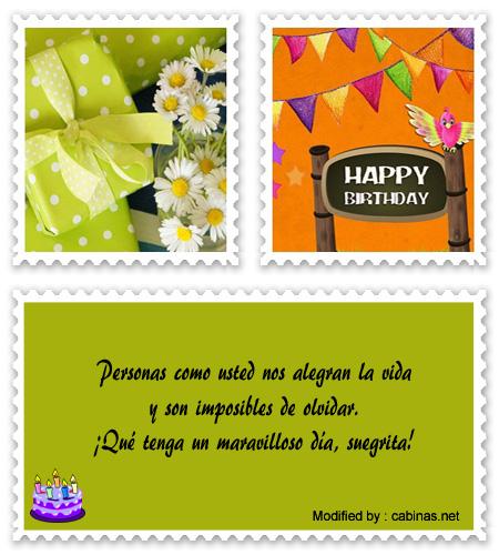 Bonitos Mensajes De Cumpleaños A Mi Suegra Frases De
