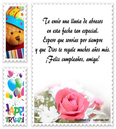 Mensajes Y Frases De Feliz Cumpleaños Para Mi Amiga