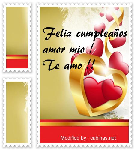 Bonitas Frases De Cumpleanos A Mi Novio Romanticas Frases Para El