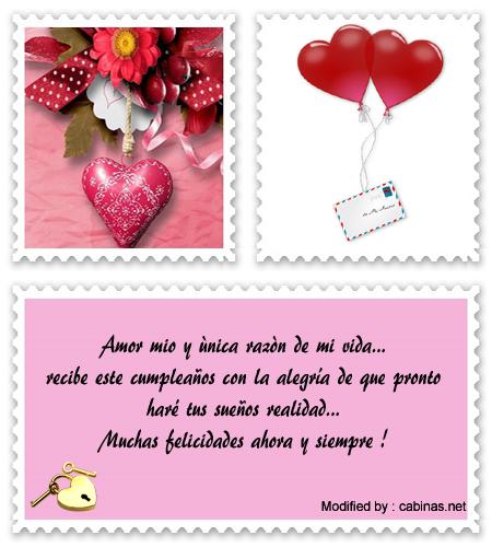 Dulces Saludos De Feliz Cumpleanos A Mi Novia Saludos Romanticos