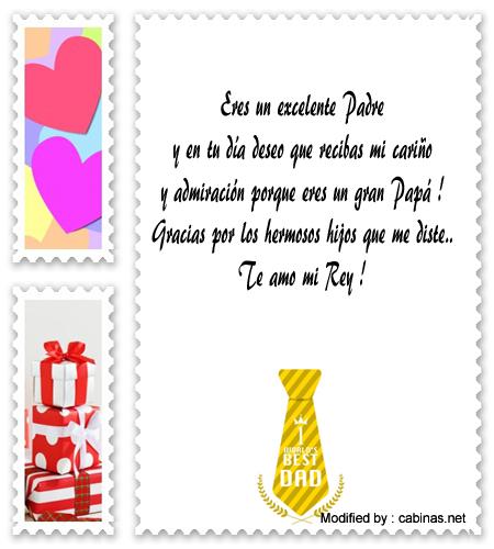 Frases De Amor Por El Dia Del Padre A Mi Esposomensajes Por