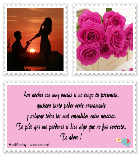 Frases De Amor Para Pedir Perdon A Mi Novia Mensajes Bonitos Para