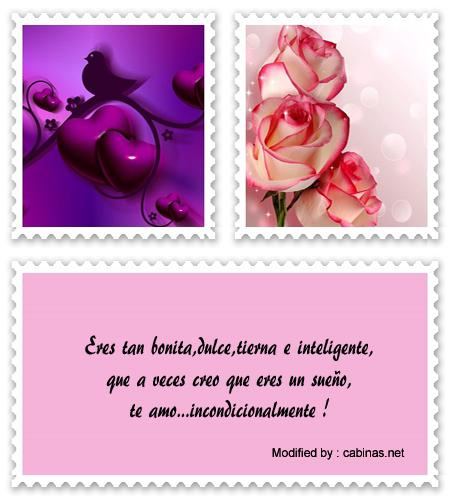 Lindos Mensajes De Amor Para Mi Novia Tarjetas Dedicatorias De Amor