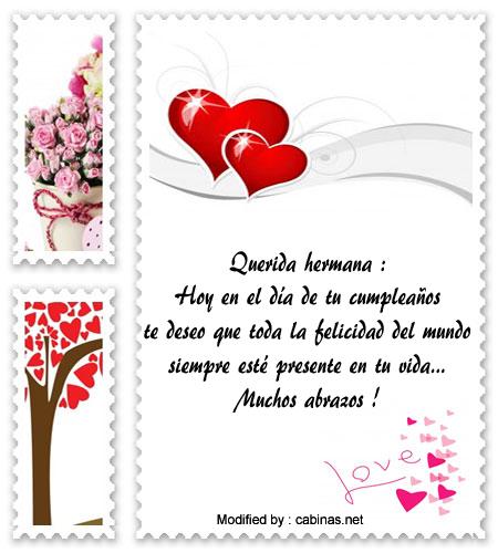 Saludos De Feliz Cumpleanos Hermanita Mensajes De Feliz Cumpleanos