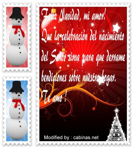 Felicitaciones De Navidad Para El Novio Madebymcl