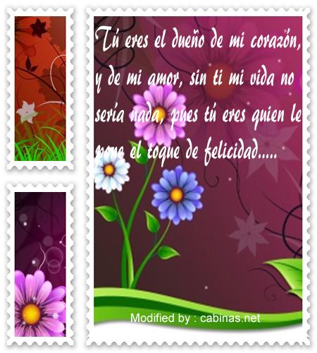 Buscar Bonitos Mensajes De Amor Para Mi Novio Frases Romanticas