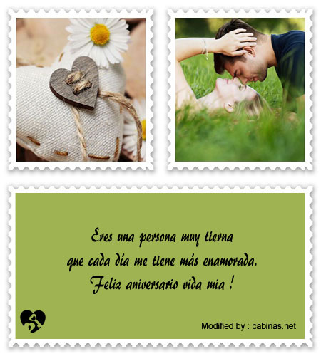 Mensajitos De Amor Para Aniversario De Novios Originales Mensajes